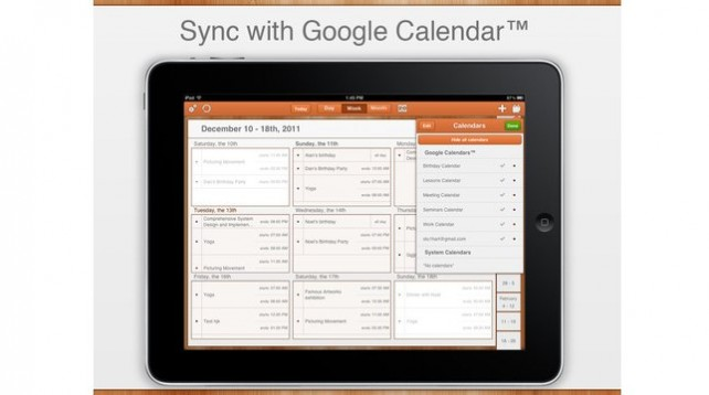 GoCal For Google Calendar HD Updated: Adds Productivity, Comfort Improvements, Optimizations