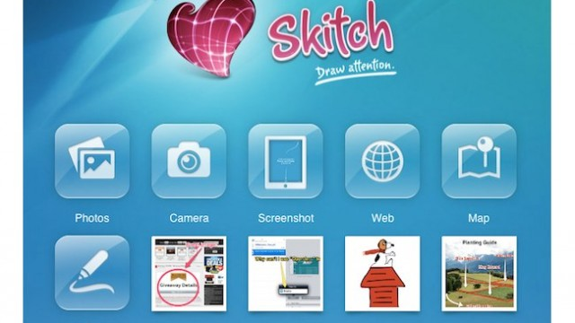 Photo Editing Just Got Easier - Evernote Releases Skitch For iPad
