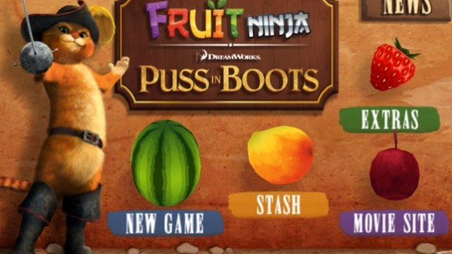 Video: This Cat Can Swipe At Ninja-Flung Fruit Faster Than Most Humans