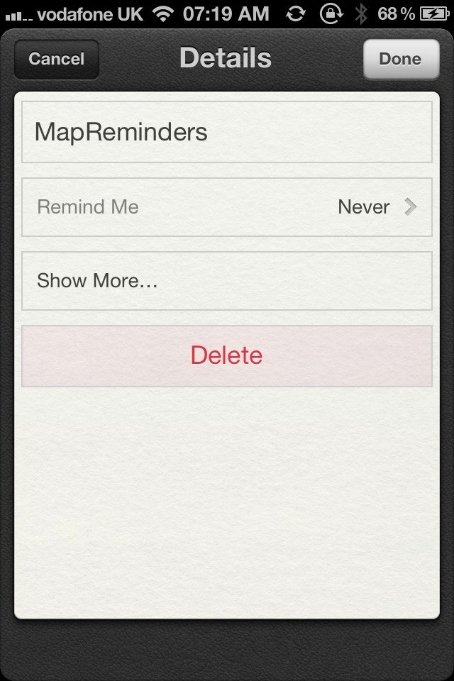 Jailbreak Only: MapReminders - Set Location Based Reminders Using The Maps API