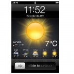 This iPhone App Can Add Weather Information To Your Lock Screen