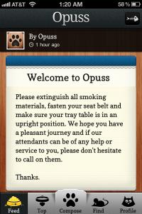Opuss by Seamonster Ltd. screenshot