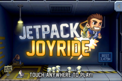 Jetpack Joyride Update Turns Barry Into Santa Steakfries