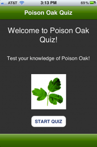 Quirky App Of The Day: Poison Oak Quiz