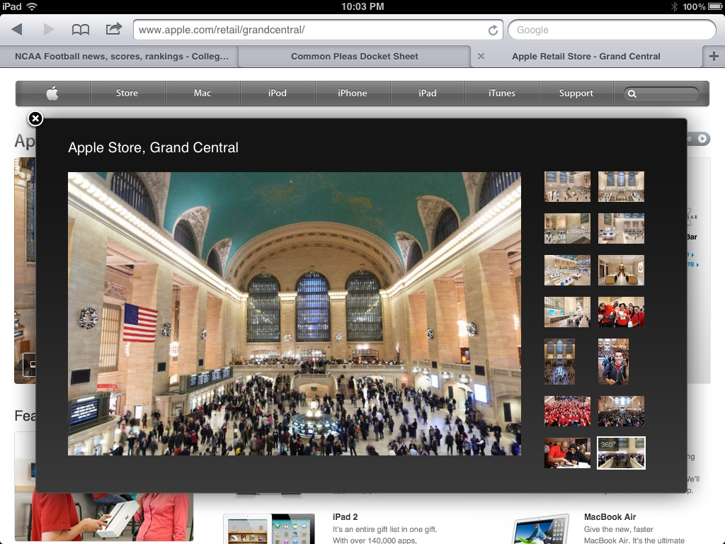 Visit Apple's New Retail Store Without Stepping Foot In Grand Central Station