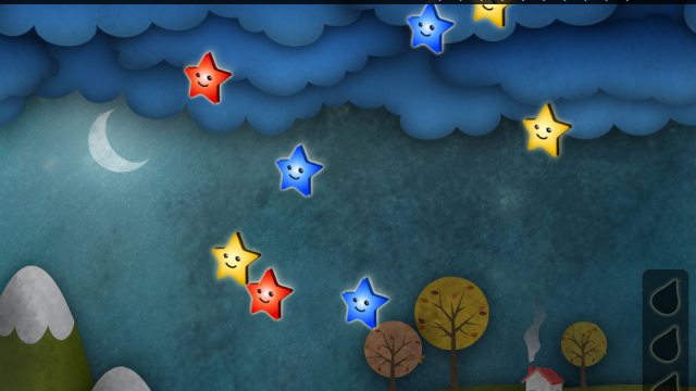 Save Adorable Falling Stars in Star Galaxy Tap