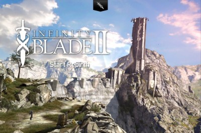 Continue The Endless Cycle Of Sword Fighting In Infinity Blade II