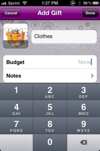 No More Socks: The Christmas List Genius by Food for Benjamin screenshot