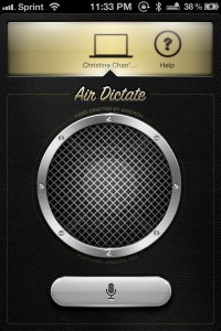 Air Dictate by Avatron Software, Inc. screenshot
