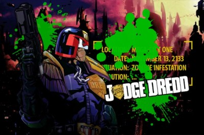 Mega City Has Been Invaded, Time To Lay Down The Law In Judge Dredd Vs Zombies