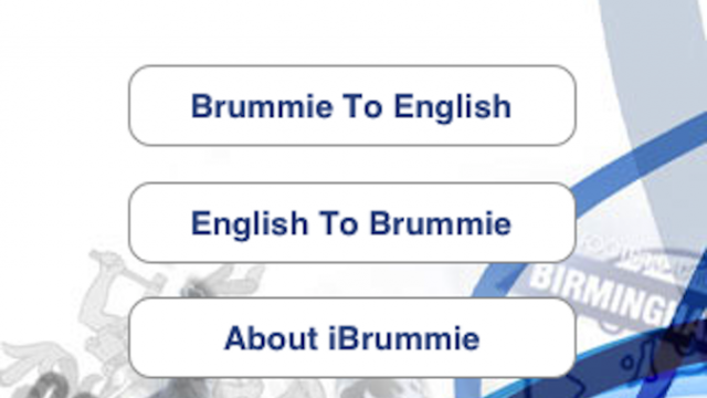 Quirky App Of The Day: iBrummie