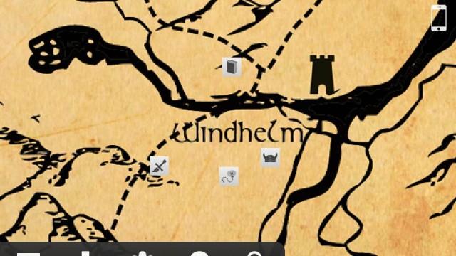 Dragon Shout - A Skyrim Companion App