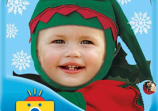 Put A Smile On A Child's Face With Picture Me Christmas Cutie
