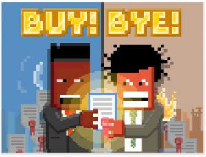 BUY!BYE! by pixel inc screenshot