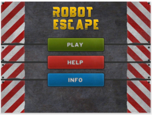 Robot Escape by Yotta Apps screenshot
