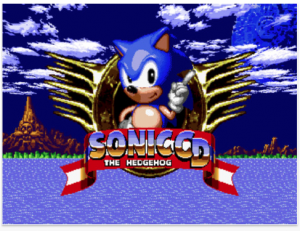 Sonic CD by SEGA screenshot