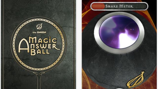 Onion Magic Answer Ball - Ask A Question And Shake, Shake, Shake