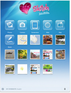 Skitch for iPad by Evernote screenshot
