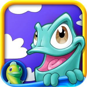 Swing Napoleon The Chameleon Through Obstacles And Challenges With Tiny Places