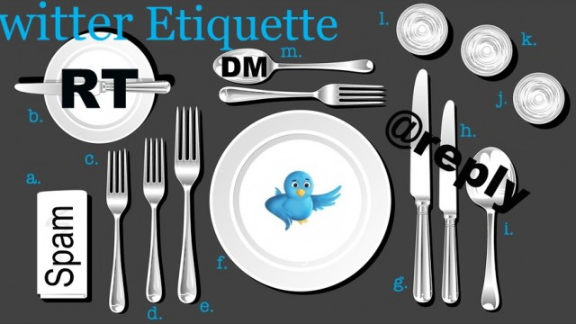 Twitter Etiquette: In A Little More Than 140 Characters