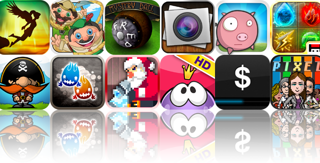 iOS Apps Gone Free: NyxQuest, Climber Brothers, Mystery Ball, And More
