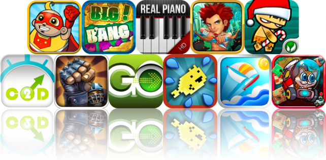 iOS Apps Gone Free: Wonder Pants, Big Bang, Real Piano HD Pro, And More