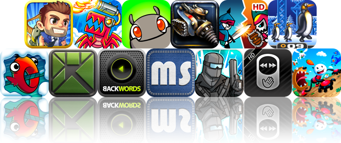 iOS Apps Gone Free: Jetpack Joyride, Velocispider, MinoMonsters, And More