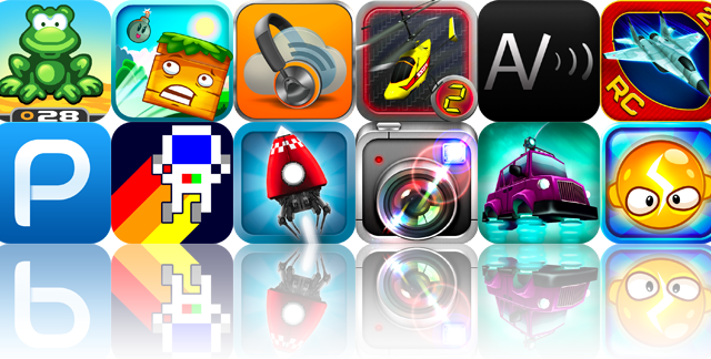iOS Apps Gone Free: Frogbert, Happy Hills, GoMusic, And More