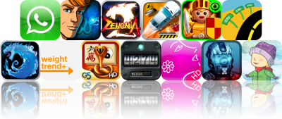 iOS Apps Gone Free: WhatsApp Messenger, Broken Sword - The Smoking Mirror, Zenonia 2, And More