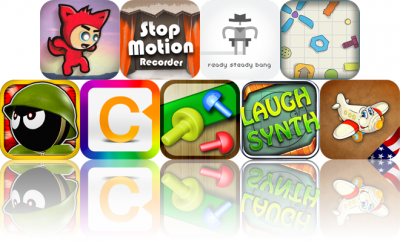 iOS Apps Gone Free: The Adventures Of Timmy, StopMotion Recorder, Ready Steady Bang, And More