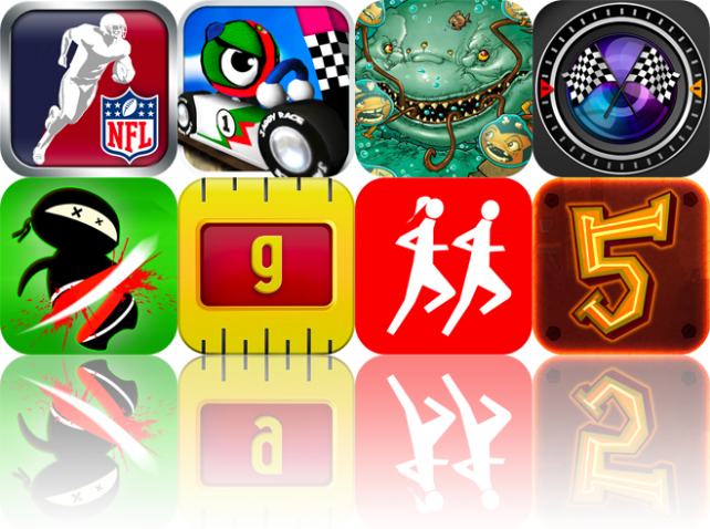 iOS Apps Gone Free: NFL Rivals, Jaggy Race, Pocket God Comics, And More