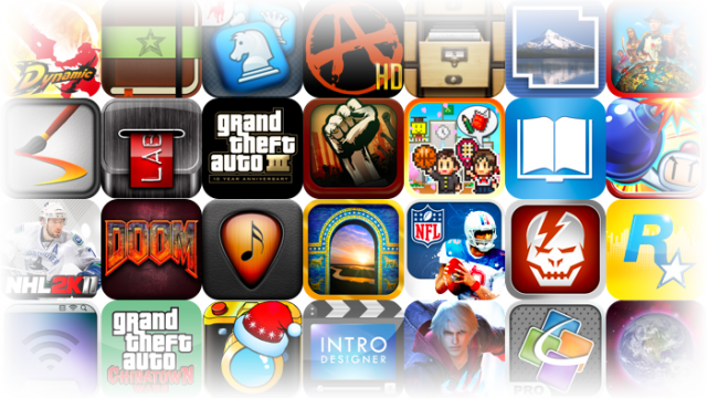 Popular iOS Apps And Games On Sale For The Holidays - Over 260 To Choose From!