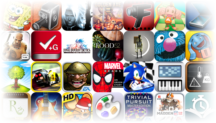 Popular iOS Apps And Games On Sale For A Limited Time - Over 180 To Choose From!