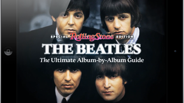 Rolling Stone's New iPad App; The Beatles Deserve Better