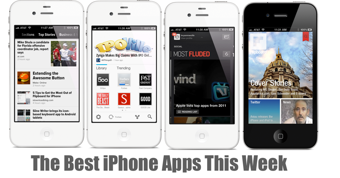 The Best New And Updated iPhone Apps This Week, December 4-10, 2011