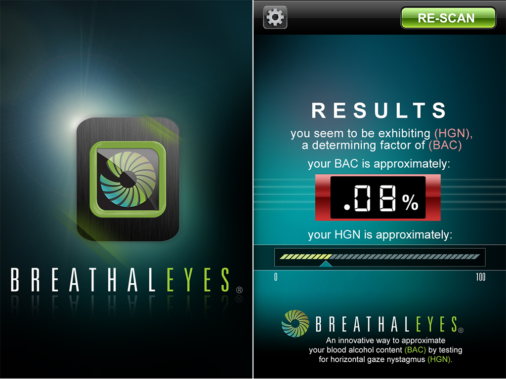 Before You Head Out To The Party, Equip Your iPhone With BreathalEyes