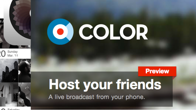 Color's Pivot Is Out - As A Color For Facebook