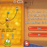 Cut The Rope Is Updated With iCloud Syncing And On Nom Receives A New Box To Play In