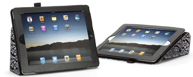 Elan Folio, iPad 2, damask