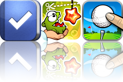 Today On Festivus: Promo Codes For Todo, Cut The Rope: Experiments, And Flick Golf HD
