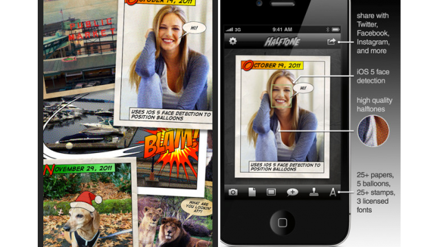 Halftone Offers Another Fantastic Update