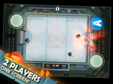 Have Some Good Old Fashioned Hockey Fun With Ice Rage