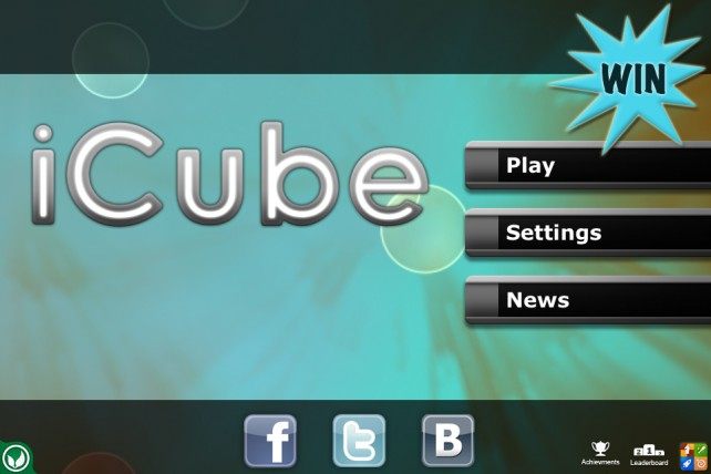 A Chance To Win iCube For iPhone And iPad