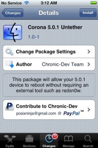 Convert That Tethered Jailbreak To An Untethered One With Corona Untether