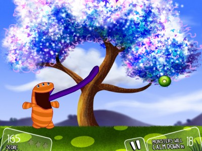 It's About Time Launches Monster Fruit For iPad, An Action-Packed Game That's Fun For Both Kids And Adults