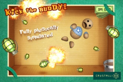 Torture Your Buddy To Death In Kick The Buddy