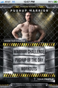 Pushup Warrior by Training For Warriors, LLC screenshot