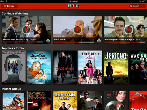 Hopefully The Netflix App Is Finally Getting Its Act Together