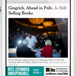The New York Times' Pay Wall Is Alive And Well In New Political App For iPhone