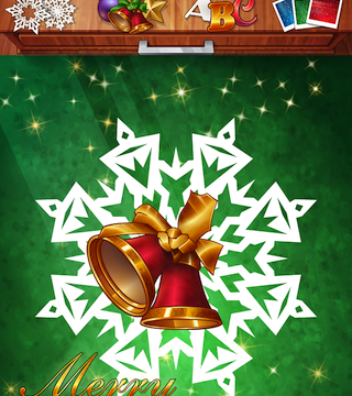 Send Last Minute Holiday Greetings With Paper Snow 2